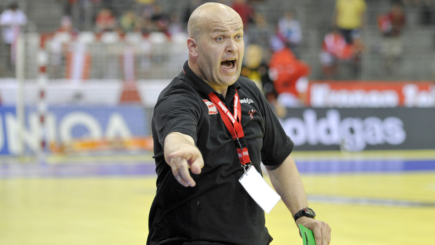 ÖHB-Coach Patrekur Johannesson (Bild: APA/HERBERT NEUBAUER)