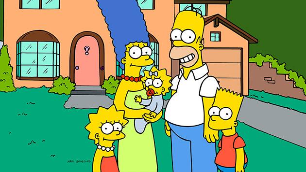 """""""Die Simpsons"""" feiern heute ihren 25. Geburtstag (Bild: AP)"""