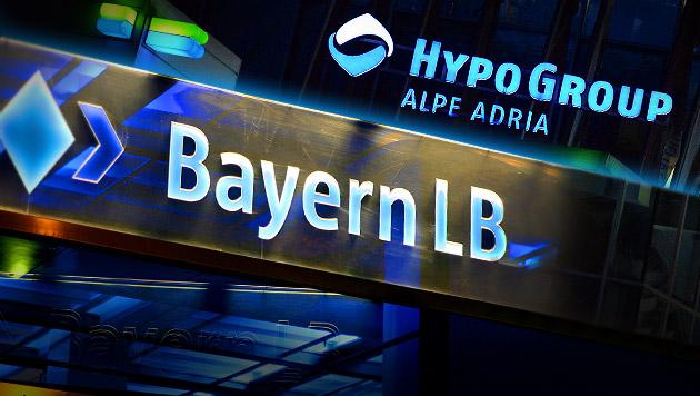 Jetzt fix: Bayern klagen 2,4 Hypo-Milliarden ein (Bild: APA/dpa, APA/BARBARA GINDL, krone.at-Grafik)
