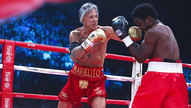 Rourke: Ließ sich Gegner für 15.000 $ verprügeln? (Bild: AFP)