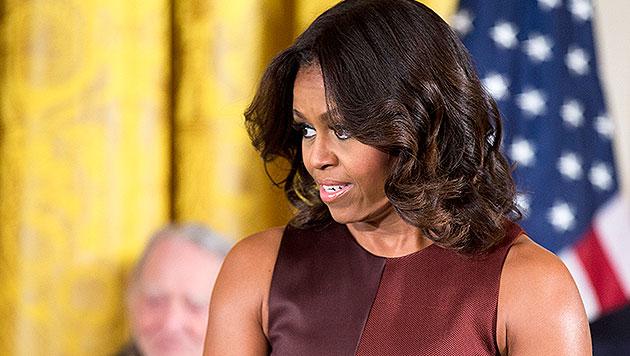Rassistische Beleidigungen gegen Michelle Obama (Bild: AP)