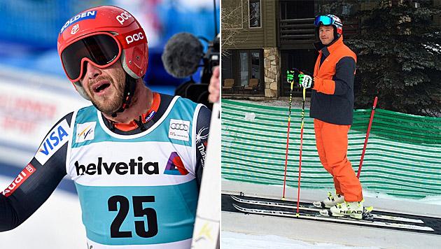 US-Skistar Bode Miller erstmals wieder auf Ski (Bild: AP, instagram.com)