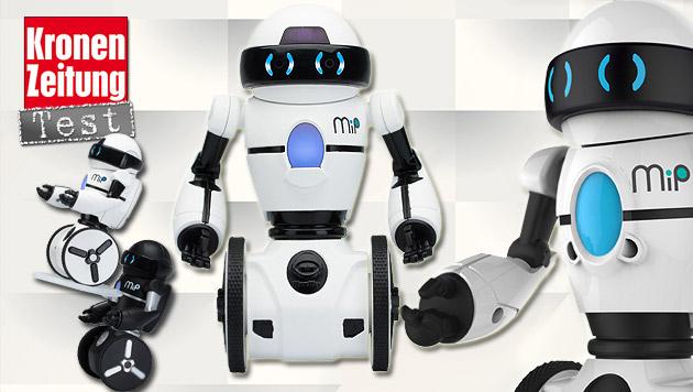 wowwee mip der roboter der herzen im test hightech spielzeug digital. Black Bedroom Furniture Sets. Home Design Ideas