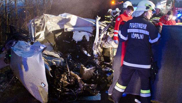 Für den 26-jährigen Autofahrer kam jede Hilfe zu spät. (Bild: FF Söding)