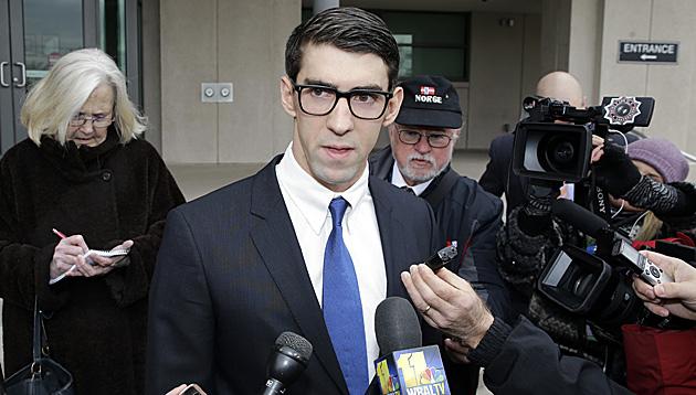 Ein Jahr Haft auf Bewährung für Olympia-Ass Phelps (Bild: AP)