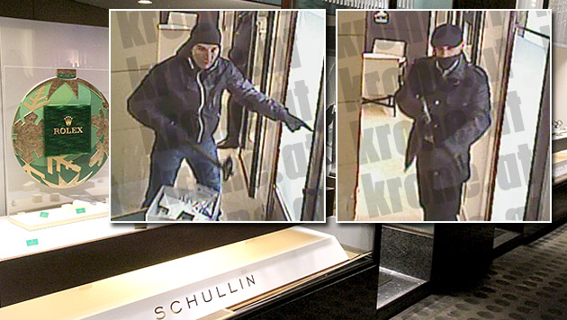 Polizei macht Jagd auf Wiener Juwelierräuber (Bild: Andi Schiel (1))
