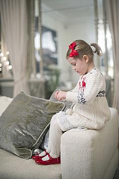 Die kleine Prinzessin, die einmal Schwedens Königin wird, ist entzückend gestylt. (Bild: Kungahuset.se)