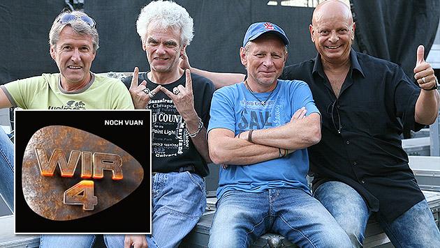 Wir4: Harry Stampfer, Ulli Bäer, Harald Fendrich, Gary Lux (Bild: Wir4)