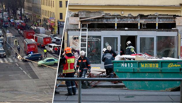 Haus in Wien wegen Einsturzgefahr evakuiert (Bild: Krone-Leserreporter, Reinhard Holl)