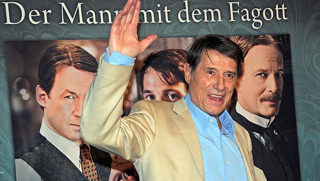 """2011 bei der Premiere der Verfilmung von """"Der Mann mit dem Fagott"""" (Bild: HORST OSSINGER/EPA/picturedesk.com)"""