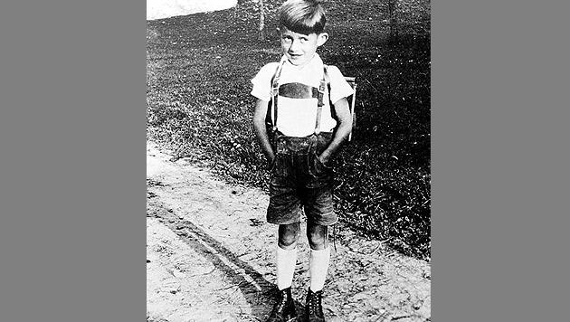 """Udo Jürgens als Kind aus dem Buch """"Der Mann mit dem Fagott"""" (Bild: Fotobdruck/Der Mann mit dem Fagott)"""