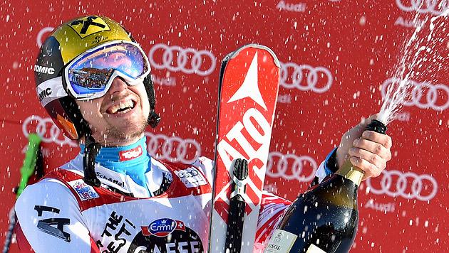 Marcel Hirscher deklassiert die Konkurrenz (Bild: APA/EPA/ETTORE FERRARI)