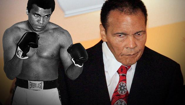 Muhammad Ali aus dem Krankenhaus entlassen (Bild: EPA/picturedesk.com, AP, krone.at-Grafik)
