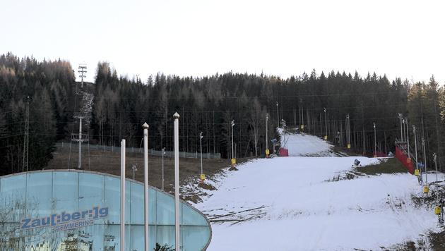 Semmering-Rennen abgesagt: Kühtai springt ein (Bild: APA/HERBERT NEUBAUER)