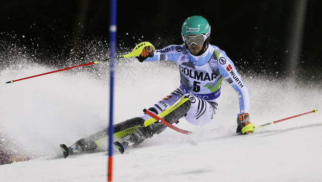 Felix Neureuther siegt im Madonna-Slalom (Bild: AP)