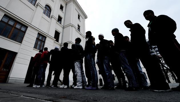 Mehr als 3.500 Asylansuchen alleine im November (Bild: APA/Hans Klaus Techt)