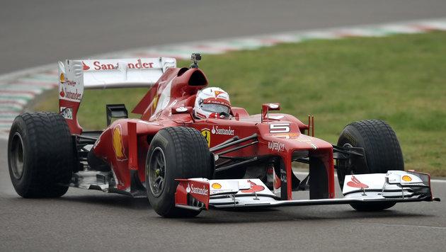 Neuer Ferrari kommt erst mit großer Verspätung (Bild: AP)