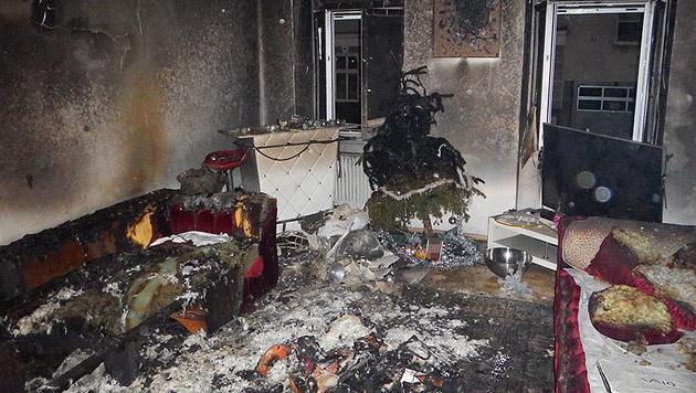 Auch in der Zeltgasse im 8. Bezirk wütete das Feuer. (Bild: MA 68 Lichtbildstelle)