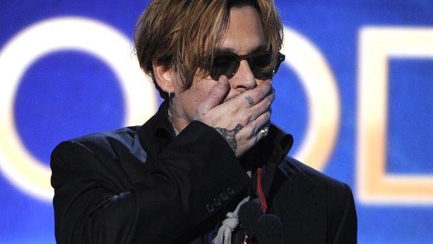 Johnny Depp hat ein Alkoholproblem (Bild: AP)