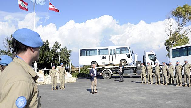 Besuch des Verteidigungsministers (Bild: HBF/Gunter Pusch)