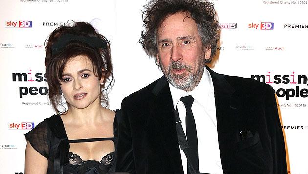 Helena Bonham Carter und Tim Burton sind bereits seit Anfang 2014 getrennt. (Bild: AP)