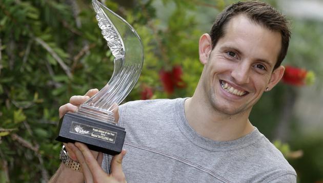 Stabhochspringer ist Weltsportler des Jahres (Bild: AP)