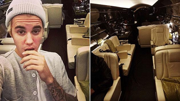 Justin Bieber bekam einen Luxus-Jet zu Weihnachten (Bild: instagram.com/justinbieber)