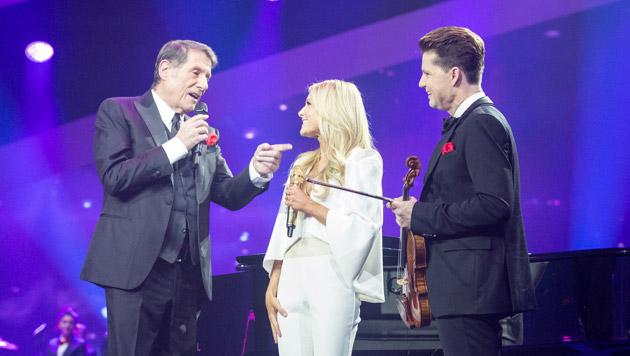 Udo Jürgens, Helene Fischer und Julian Rachlin (Bild: ZDF/Sandra Ludewig)