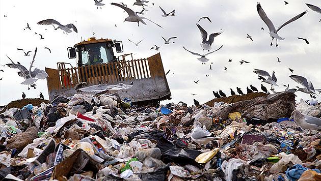 Österreich als Zielland für Müll-Züge aus Sizilien (Bild: thinkstockphotos.de (Symbolbild))