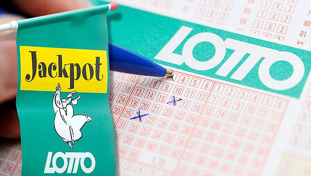 Lotto: Fünffach-Jackpot mit zwei Sechsern geknackt (Bild: APA/HELMUT FOHRINGER, krone.at-Grafik)