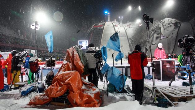 Tournee-Start abgeblasen! Wind verpatzte Auftakt (Bild: APA/EPA/Grzegorz Momot)
