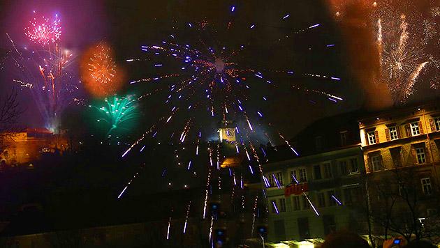 Feuerwerk am Grazer Schloßberg ab heuer gestrichen (Bild: Sepp Pail (Archivbild))