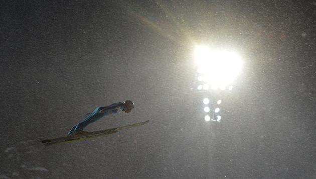 Kraft siegt vor Hayböck bei Tournee in Oberstdorf (Bild: AP)