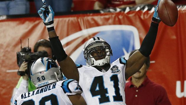 Letzter Play-off-Platz an Carolina Panthers (Bild: AP/John Bazemore)