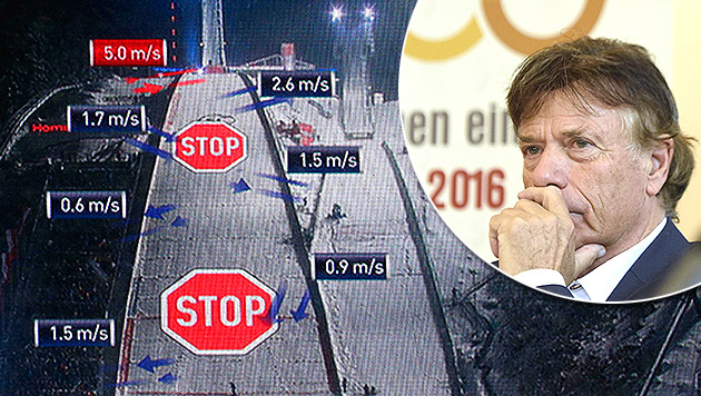 "Schröcksnadel: ""Skispringen ist wie Wetterbericht"" (Bild: AP, APA/HELMUT FOHRINGER)"