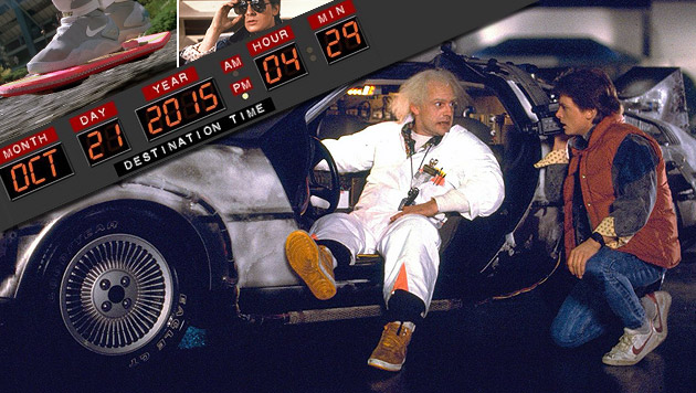 "Marty McFly reiste in ""Back to the Future"" mit Doc Browns Hilfe ins Jahr 2015. (Bild: Universal)"