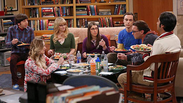 "Platz 3 bei Serien: ""The Big Bang Theory"" (Bild: facebook.com/thebigbangtheory)"