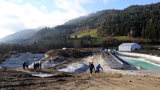 Chemie-Altlast in Brückl: Nach HCB sorgt jetzt das Umweltgift HCBD für einige Probleme. (Bild: Uta Rojsek-Wiedergut)