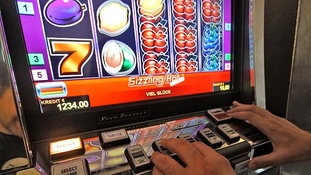 Illegale Glücksspiel-Automaten im Visier (Bild: APA/GEORG HOCHMUTH (Symbolbild))