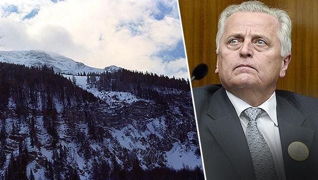 Sozialminister Rudolf Hundstorfer verletzte sich beim Skifahren am Ötscher schwer. (Bild: ORF/Clemens Nagel, APA/Herbert Neubauer)