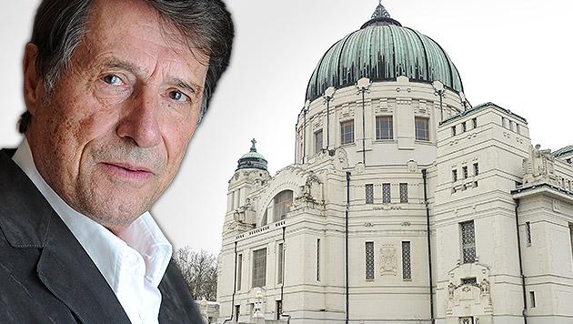 Udo Jürgens erhält ein Ehrengrab auf dem Wiener Zentralfriedhof. (Bild: APA/dpa-Zentralbild/Jens Kalaene, APA/HERBERT PFARRHOFER)