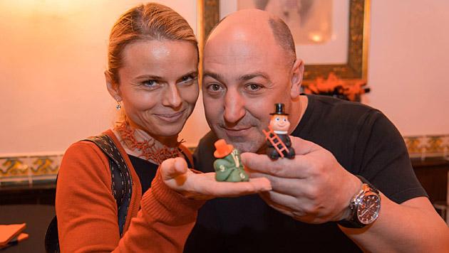 """""""Am besten wäre es, alles bliebe wie im letzten Jahr"""", Rudi Roubinek und seine Partnerin Susanne. (Bild: Andreas Tischler)"""