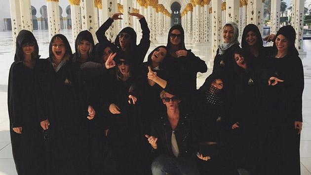 Nach Dubai jettet die Clique weiter auf die Malediven. (Bild: instagram.com/kendalljenner)