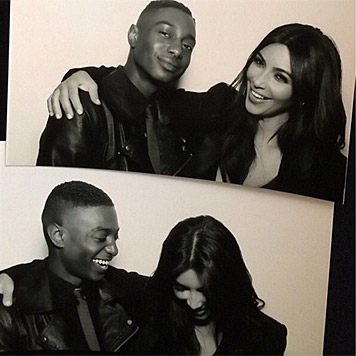 Sie tut es doch! Kim Kardashian kann tatsächlich lachen. (Bild: instagram.com/kimkardashian)