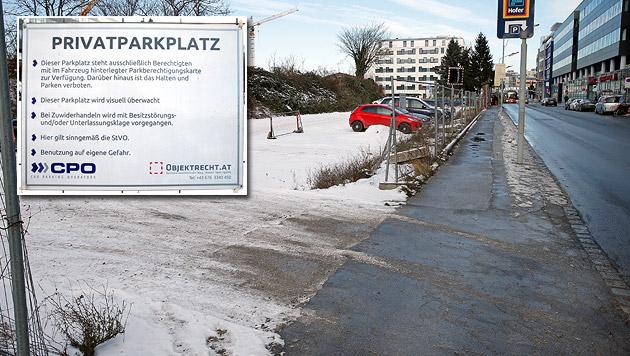 Klage-Erfolg gegen Abzocke auf Wiener Parkplatz (Bild: Reinhard Holl)