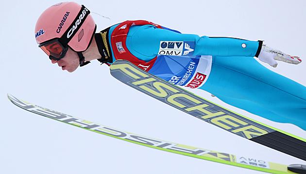 Kraft auch in Garmisch-Quali ganz vorne dabei (Bild: APA/EPA/DANIEL KARMANN)