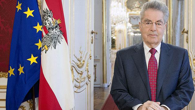 """Fischer: """"Österreich muss ein sauberes Land sein"""" (Bild: APA/BUNDESHEER/CARINA KARLOVITS)"""