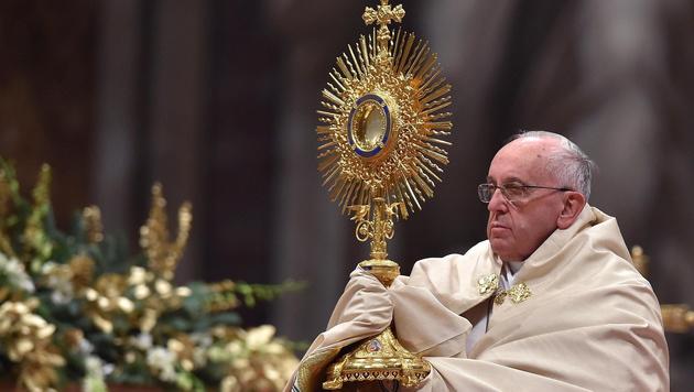 "Papst Franziskus: ""Frieden ist immer m�glich"" (Bild: APA/EPA/ETTORE FERRARI)"