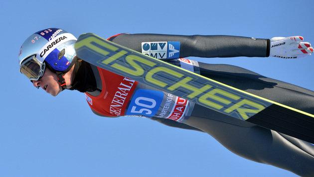 Schlieri Vierter, Kraft auch nach Garmisch Leader (Bild: AP)