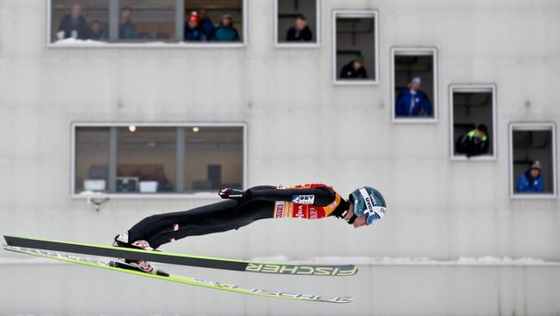 Schlieri Vierter, Kraft auch nach Garmisch Leader (Bild: APA/EPA/DANIEL KARMANN)
